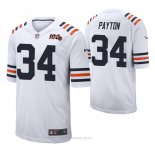 Camiseta NFL Limited Hombre Chicago Bears Walter Payton 100th Season Classic Blanco