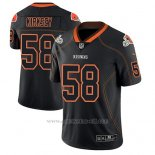 Camiseta NFL Limited Hombre Cleveland Browns Christian Kirksey Negro Color Rush 2018 Lights Out