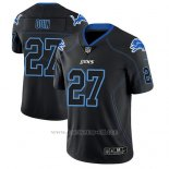 Camiseta NFL Limited Hombre Detroit Lions Glover Quin Negro Color Rush 2018 Lights Out