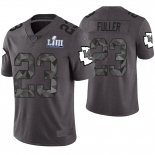 Camiseta NFL Limited Hombre Kansas City Chiefs Kendall Fuller Gris Super Bowl LIII
