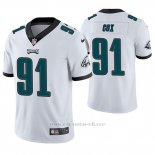 Camiseta NFL Limited Hombre Philadelphia Eagles Fletcher Cox Blanco Vapor Untouchable