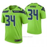 Camiseta NFL Limited Hombre Seattle Seahawks Franco Harris Verde Color Rush