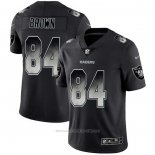 Camiseta NFL Limited Las Vegas Raiders Brown Smoke Fashion Negro