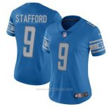 Camiseta NFL Limited Mujer Tennessee Titans 9 Stafford Azul
