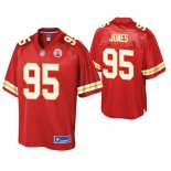 Camiseta NFL Nino Kansas City Chiefs Chris Jones Pro Line Rojo