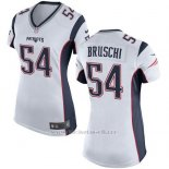 Camiseta New England Patriots Bruschi Blanco Nike Game NFL Mujer