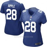 Camiseta New York Giants Apple Azul Nike Game NFL Mujer