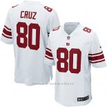 Camiseta New York Giants Cruz Blanco Nike Game NFL Nino