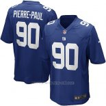 Camiseta New York Giants Pierre Paul Azul Nike Game NFL Nino