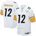 Camiseta Pittsburgh Steelers Bradshaw Blanco Nike Game NFL Nino