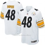 Camiseta Pittsburgh Steelers Dupree Blanco Nike Game NFL Nino