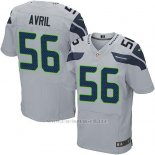 Camiseta Seattle Seahawks Avril Apagado Blanco Nike Elite NFL Hombre