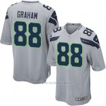 Camiseta Seattle Seahawks Graham Gris Nike Game NFL Nino