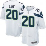 Camiseta Seattle Seahawks Lane Blanco Nike Game NFL Nino