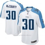 Camiseta Tennessee Titans Mccourty Blanco Nike Game NFL Nino