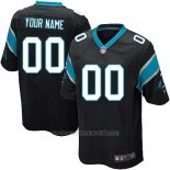 Camisetas NFL Replica Nino Carolina Panthers Personalizada Negro