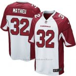Camiseta Arizona Cardinals Mathieu Blanco Rojo Nike Game NFL Nino