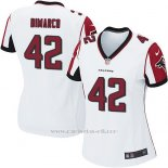 Camiseta Atlanta Falcons Dimarco Blanco Nike Game NFL Mujer