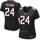 Camiseta Atlanta Falcons Freeman Negro Nike Game NFL Mujer