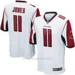Camiseta Atlanta Falcons Jones Blanco Nike Game NFL Hombre2