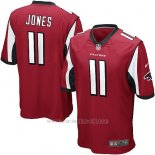 Camiseta Atlanta Falcons Jones Rojo Nike Game NFL Hombre(1)