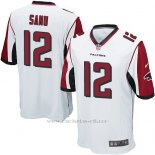 Camiseta Atlanta Falcons Sanu Blanco Nike Game NFL Nino