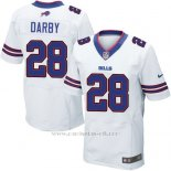 Camiseta Buffalo Bills Darby Blanco Nike Elite NFL Hombre