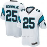 Camiseta Carolina Panthers Benwikere Blanco Nike Game NFL Hombre