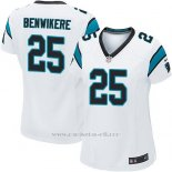 Camiseta Carolina Panthers Benwikere Blanco Nike Game NFL Mujer