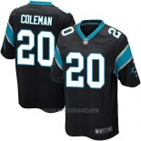 Camiseta Carolina Panthers Coleman Negro Nike Game NFL Hombre