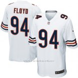 Camiseta Chicago Bears Floyd Blanco Nike Game NFL Hombre