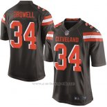 Camiseta Cleveland Browns Crowell Marron Nike Game NFL Nino