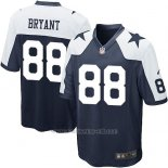 Camiseta Dallas Cowboys Bryant Negro Blanco Nike Game NFL Nino