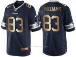 Camiseta Dallas Cowboys Williams Profundo Azul Nike Gold Game NFL Hombre