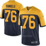 Camiseta Green Bay Packers Daniels Negro Amarillo Nike Game NFL Nino