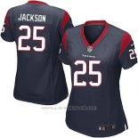 Camiseta Houston Texans Jackson Negro Nike Game NFL Mujer
