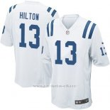 Camiseta Indianapolis Colts Hilton Blanco Nike Game NFL Nino