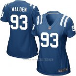 Camiseta Indianapolis Colts Walden Azul Nike Game NFL Mujer