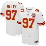 Camiseta Kansas City Chiefs Bailey Blanco Nike Elite NFL Hombre