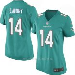 Camiseta Miami Dolphins Landry Verde Nike Game NFL Mujer