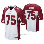 Camiseta NFL Game Hombre Arizona Cardinals Brant Weiss Blanco