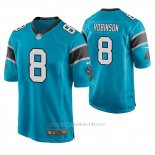 Camiseta NFL Game Hombre Carolina Panthers Aldrick Robinson Azul
