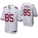Camiseta NFL Game Hombre San Francisco 49ers George Kittle Blanco