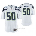 Camiseta NFL Game Hombre Seattle Seahawks K. J. Wright Blanco