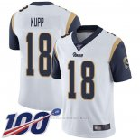 Camiseta NFL Game Los Angeles Rams 18 Cooper Kupp Blanco