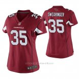 Camiseta NFL Game Mujer Arizona Cardinals D.j. Swearinger Rojo