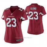 Camiseta NFL Game Mujer Arizona Cardinals Robert Alford Rojo