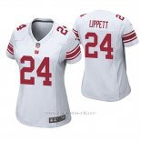 Camiseta NFL Game Mujer New York Giants Tony Lippett Blanco