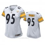 Camiseta NFL Game Mujer Pittsburgh Steelers Chris Wormley Blanco