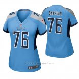 Camiseta NFL Game Mujer Tennessee Titans Rodger Saffold Azul Luminoso